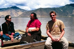 Joe & Steven in Tibet