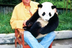 Steven with Panda, 2