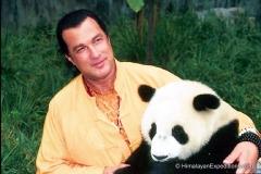Steven with Panda