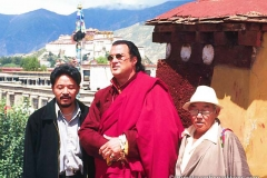 Steven with Potala
